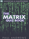 The Matrix Quiz Book (eBook): The Film Quiz Books
